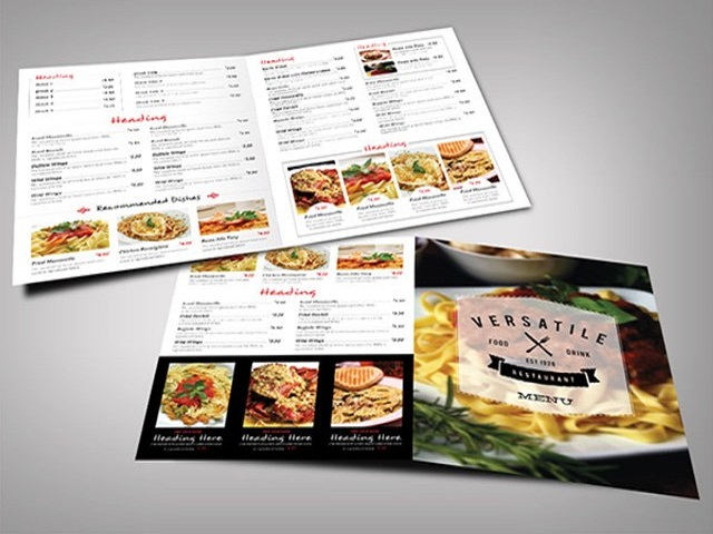 Menu Restaurant 2