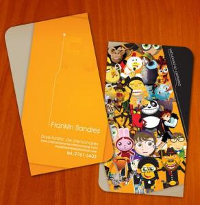 Card visit giấy nhựa