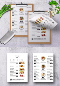 Tư vấn in menu giấy nhựa cho resort